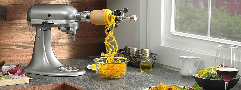Amazon Com Kitchenaid Ksm1apc Spiralizer Attachment With