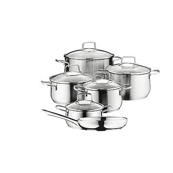 Wmf 0739166030 cromargan batterie batterie de cuisine for Set cuisine inox