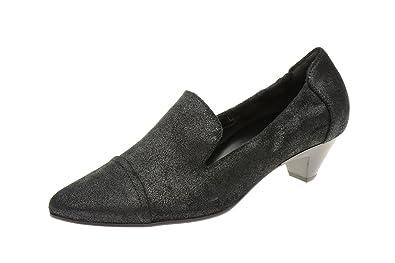 Högl noir sheenvelour, escarpins femme - 8-10 4322 0100