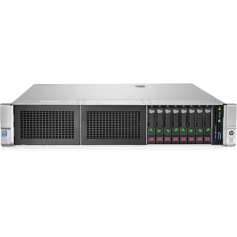 Hewlett Packard HP 777337-S01 ProLiant DL380 G9 2U Rack Server - 1 x Intel Xeon E5-2620 v3 2.40 GHz - 2 Processor Support - 16 GB Standard - 12Gb/s SAS RAID Supported Controller - Gigabit Ethernet - 500 W