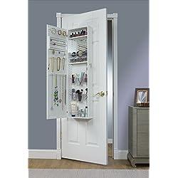 over the door hanging jewelry armoire