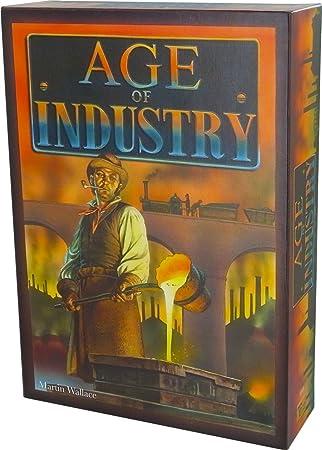 Treefrog - TRF01 - Jeu de Plateau - Age of Industry