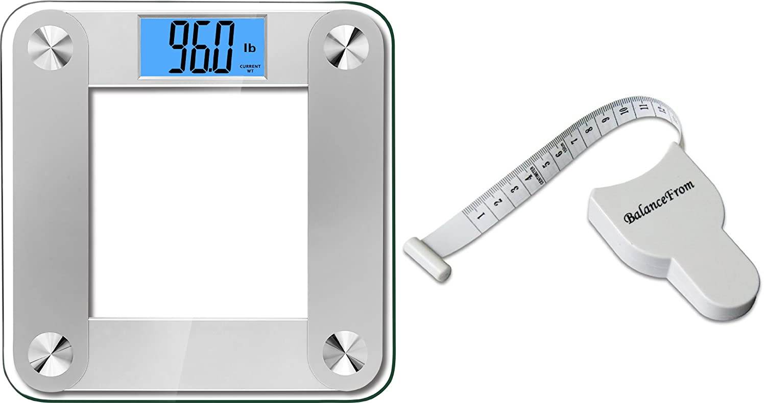 BalanceFrom High Accuracy Plus Digital Bathroom Scale