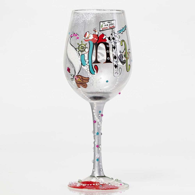 Santa claus wine glasses christmas wikii for Holiday stemware