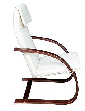 Astonishing Niche Mia Reclining Bentwood Chair Mocha Walnut Beige Ncnpc Chair Design For Home Ncnpcorg