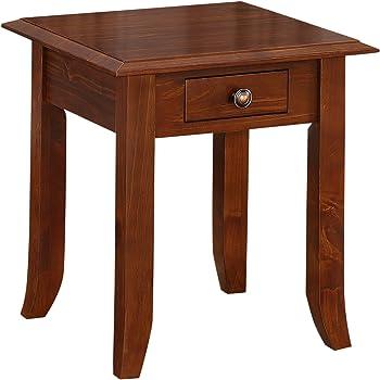 Simpli Home Devon Square End Table
