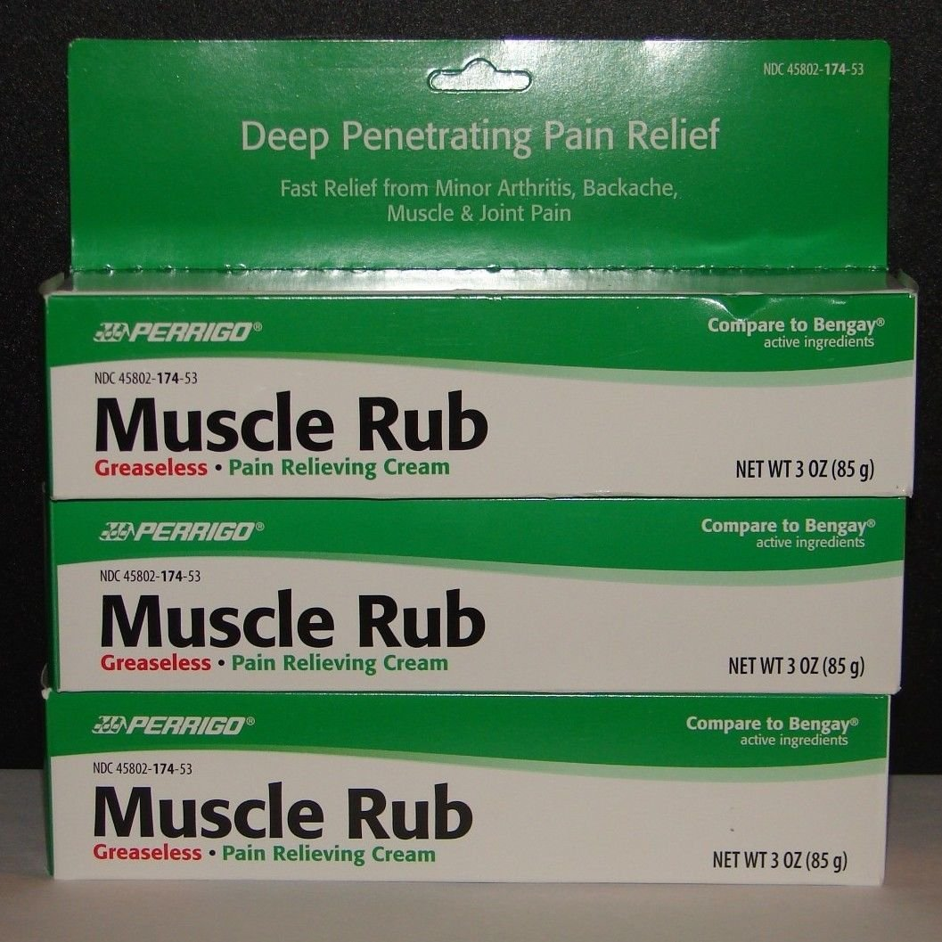Muscle Rub Cream 3oz Large