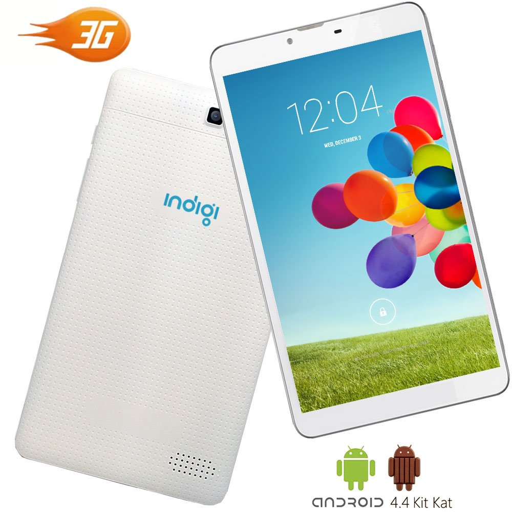Indigi® Phablet 2-in-1 SmartPhone 3G + Tablet PC 7in TouchScreen Android 4.4 UNLOCKED