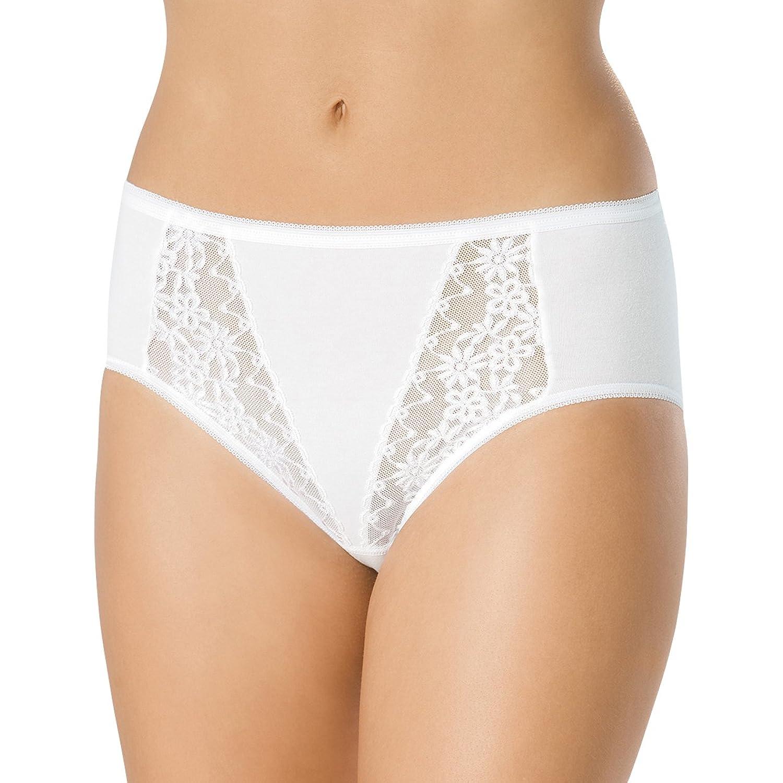 SPEIDEL Damen Slip mit Spitze 5er Pack – Basic 9386 Baumwolle+Elasthan, Farbe Weiss, Gr. 40-50 jetzt kaufen