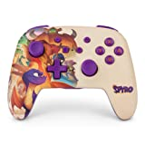 PowerA Enhanced Wireless Controller for Nintendo Switch - Spyro - Nintendo Switch