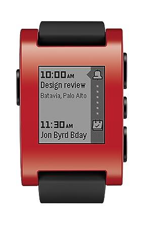 Pebble Watch (301RD) Okosóra - piros