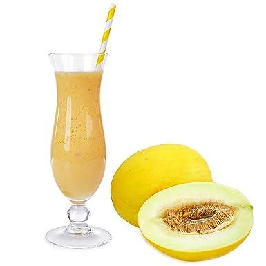 Honigmelone Geschmack Eiweißpulver Milch Proteinpulver Whey Protein Eiweiß L-Carnitin angereichert Eiweißkonzentrat fur Proteinshakes Eiweißshakes Aspartamfrei (10 kg)