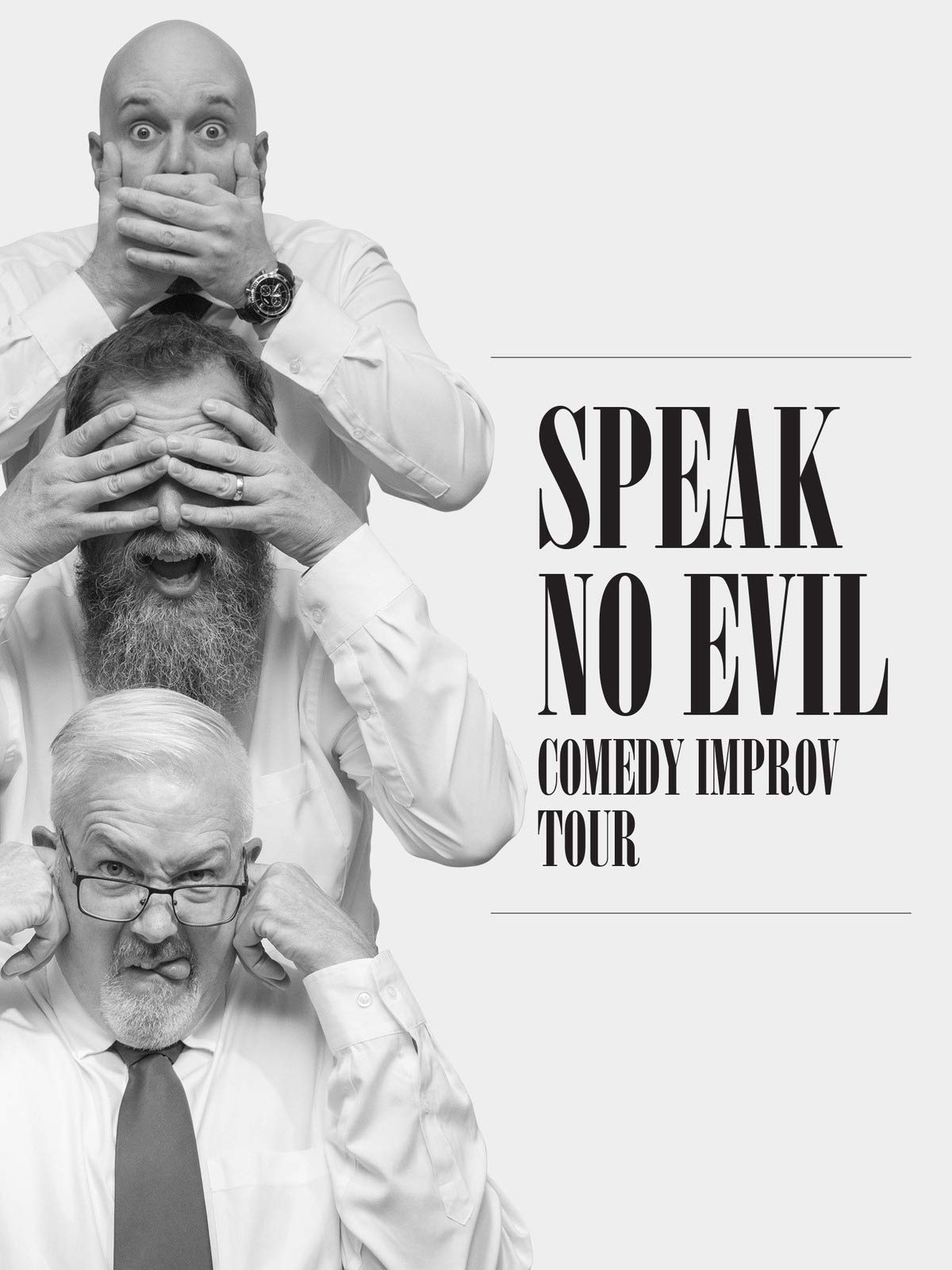 The Fidgets Speak No Evil Improv Comedy Live Extended Version on Amazon Prime Video UK