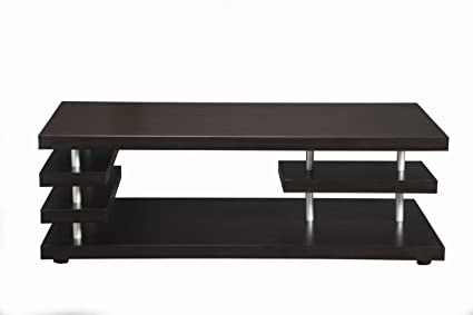 Furniture of America Tahoe Rectangular Coffee Table, Cappuccino