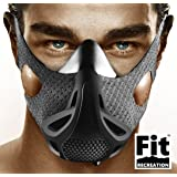 FitRecreation Altitude Workout Mask Workout Mask for Running, Biking, and Fitness - High Altitude Simulation Mask for Top Performance - Restricting Breathing Mask - 4 Level Workout Mask (Color: Restricting Breathing Mask)