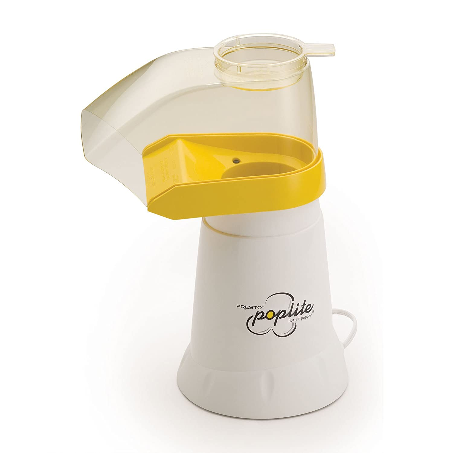Presto 04820 PopLite Hot Air Popper, White $19.88