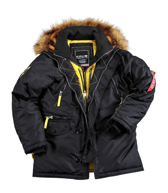 Alpha Industries PPS N3B Winterjacket Parka Black Schwarz jetzt bestellen