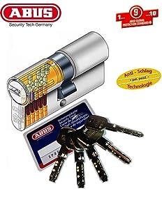 ABUS XP2S ProfilDoppelzylinder Länge 35/55mm mit 5 Schlüssel  BaumarktÜberprüfung und Beschreibung