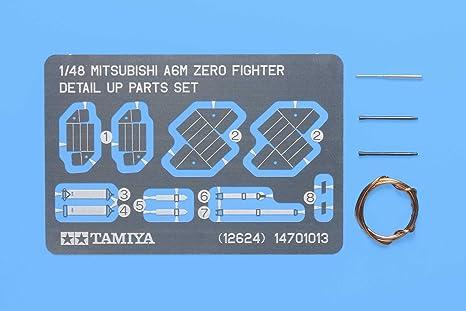 Tamiya - 12624 - Accessoire Pour Maquette - Set Détails A6m Zéro