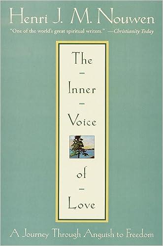 The Inner Voice of Love written by Henri Nouwen