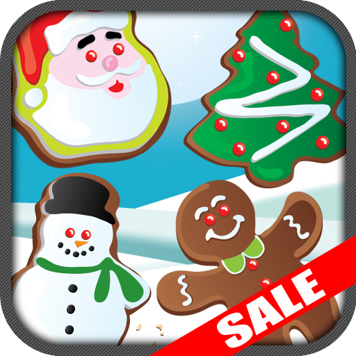 Christmas Cookies Match 3 Christmas Game Kids App (Kindle Tablet Edition)
