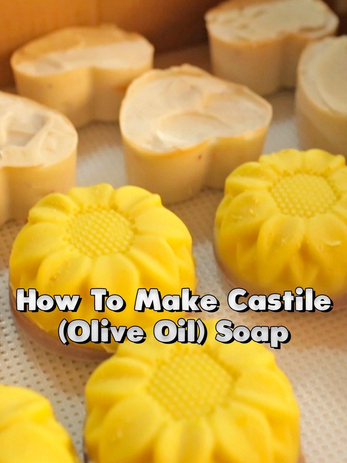 How To Make Castile (Olive Oil) Soap on Amazon Prime Video UK