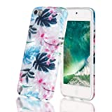 iPod Touch 7 Case,iPod Touch 6 Case,Shell Marble Design High Impact Silicone Anti-Scratch &Fingerprint Shock Proof Ultra Thin Non Slip Cover Protective Case for Apple iPod Touch 5/6/7th Generation (Color: pattern 2)
