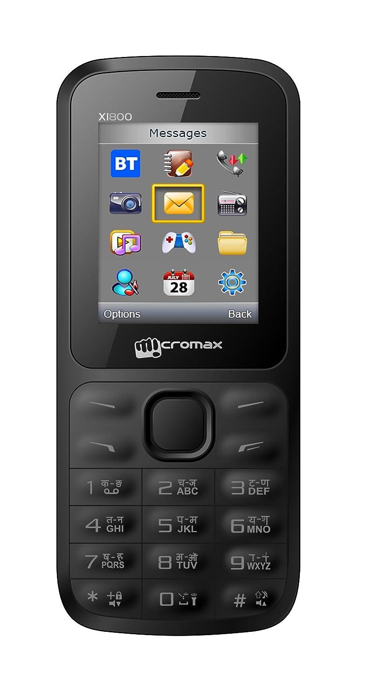 Buy Micromax X1800 Dual Sim Mobile Online Lowest Best Price