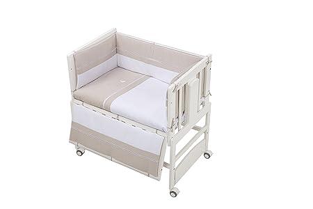 BOLIN BOLON Duo Culla 5in 1/Parure di letto bianco