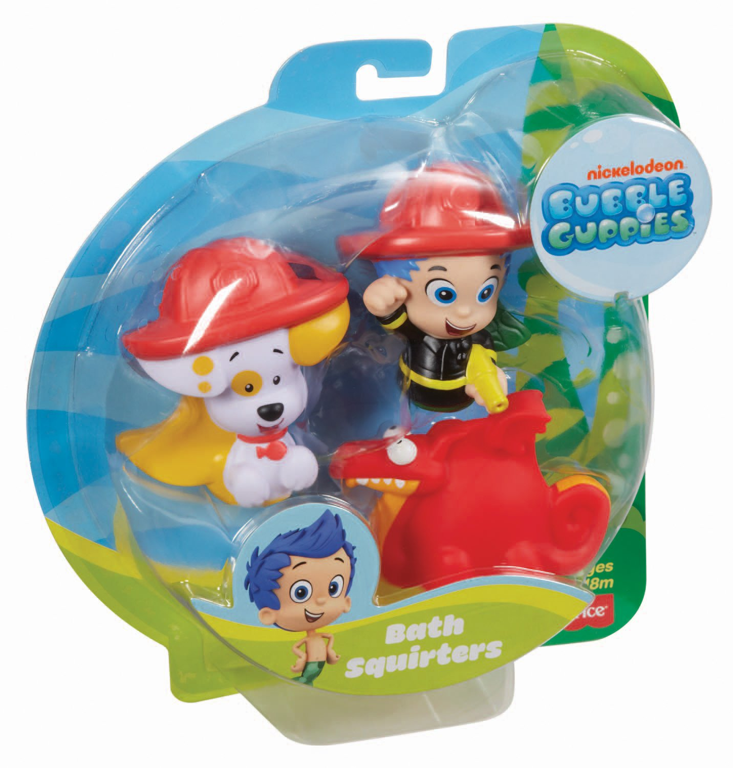 Fisher price nickelodeon bubble guppies gil bubble puppy and water dragon bath ebay - Bubulles guppies ...
