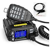 QYT KT-8900D 25W Dual Band Mini Mobile Transceiver Two-Way Radios136~174/400~480MHz Quad standby Amateur Car Radio