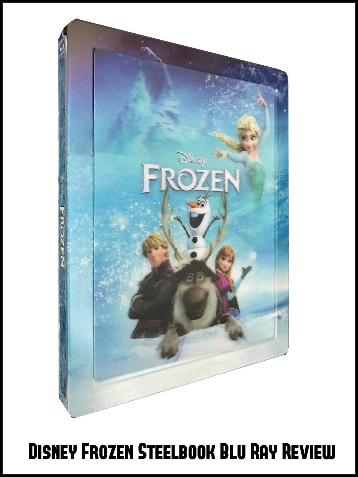 Review: Disney Frozen Steelbook Blu Ray Review