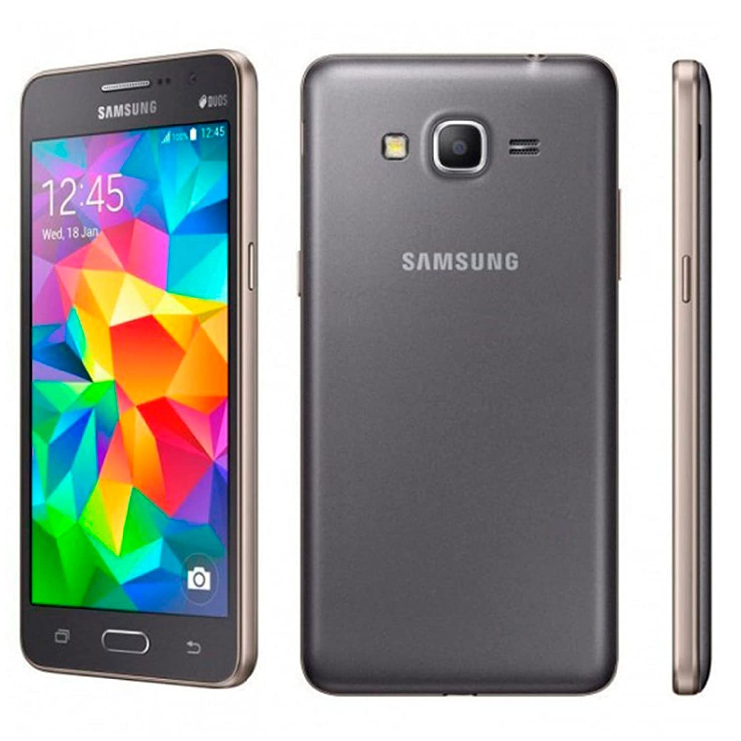 Samsung Galaxy Grand Prime Duos G531H/DS 8GB - Retail Packaging - Grey