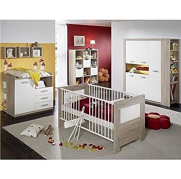 Babyzimmer michi 6 teilig eiche s gerau absetzung weiss k che haushalt wtjcuvb - Babyzimmer michi ...