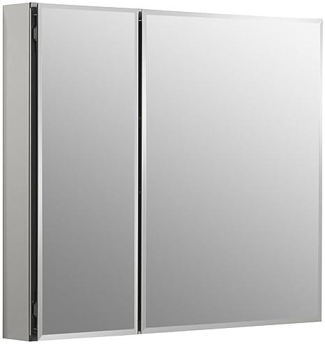 KOHLER K-CB-CLC3026FS 30-by-26-by-5-Inch Double Door Aluminum Cabinet