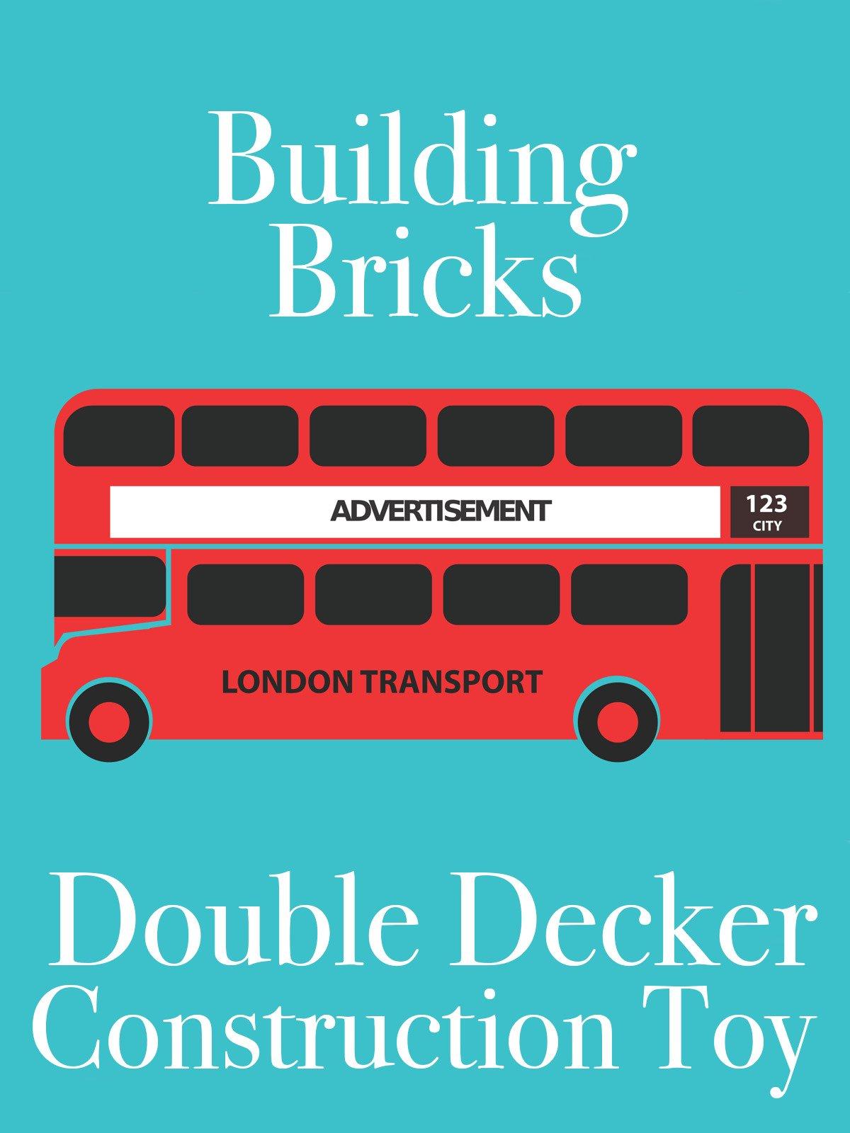 Clip: Building Bricks Double Decker Construction Toy