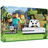 Xbox One S 500GB Console - Minecraft Bundle [Discontinued] (Tamaño: 18.00in. x 18.00in. x 5.00in.)