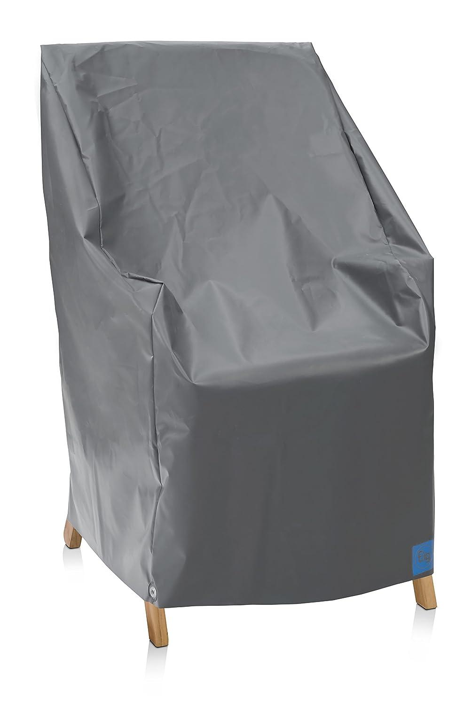 Eigbrecht 140255 Robusta Abdeckhaube Schutzhülle für Hochlehner Sessel grau 63x63x100/65cm