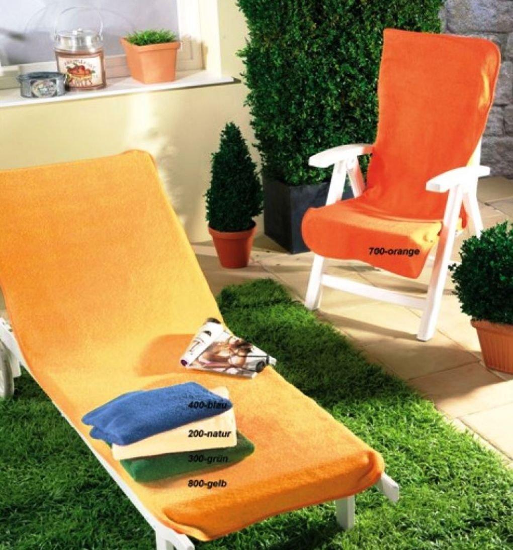Dyckhoff Schonbezug für Gartenmöbel Gartenstuhlbezug 60 x 130 cm grün günstig kaufen