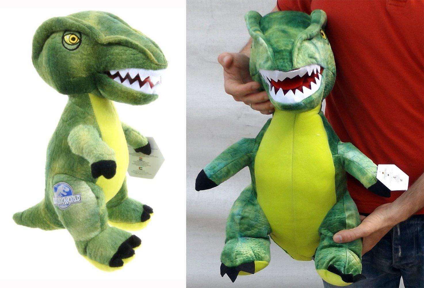 Brigamo 24018 – Jurassic World© grüner Velociraptor Plüsch DINOSAURIER IN XL GRÖßE! online kaufen