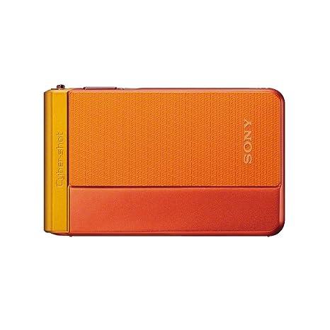 Sony DSC-TX30D.CE3 Appareil Photo Numérique Full HD Etanche 18 Mpix Zoom optique: 5x Orange