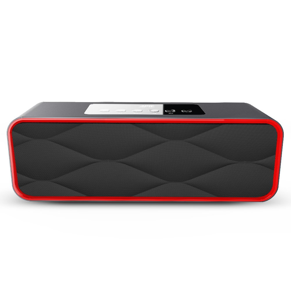 Apie portable Wireless Bluetooth Speakers 10W Output Power with Enhanced Bass HI-FI Surround Stereo Sound Speaker for Home and Outdoor Party Beach Picnic