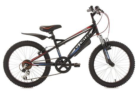"KS Cycling Prophecy Vélo VTT Enfant 20"" Noir 31 cm"
