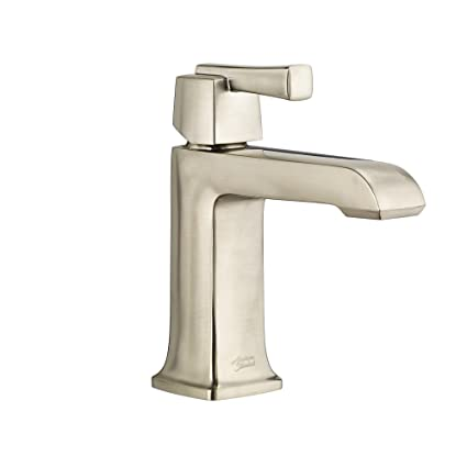 American Standard 7353101.295 Townsend Single-Handle Single-Hole Bathroom Faucet with Speed Connect Drain In Satin Nickel
