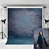 Kate 6.5x10ft Abstract Blue Texture Backdrop Retro Photo Background for Photographer Portraits Studio Props (Color: 126969, Tamaño: 6.5x10ft)