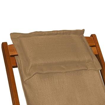 deckchair beige sonnenliege liegestuhl strandstuhl stuhl. Black Bedroom Furniture Sets. Home Design Ideas
