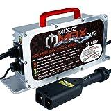 MODZ Max36 15 AMP EZGO TXT Battery Charger for 36 Volt Golf Carts (Tamaño: 36V)