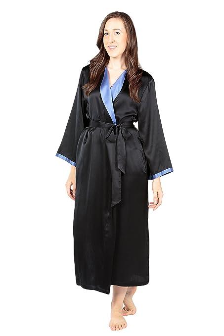 Women's Silk Robe Bathrobe