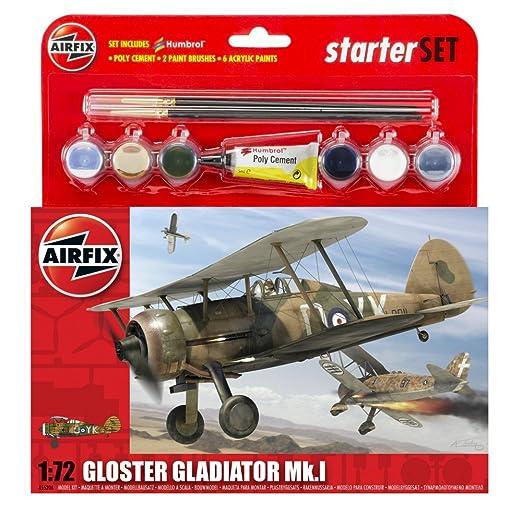 Airfix - AI55206 - Maquette - Gloster Gladiator - Nouveau Moule