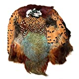 American Feathers #1 Quality Ringneck Pheasant Skin - Product of The U.S.A. (Natural) (Color: Natural)